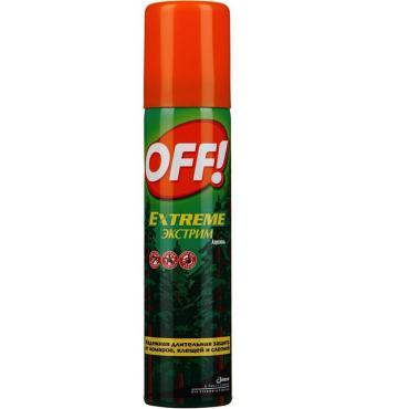 Спрей от комаров и клещей Off! Экстрим