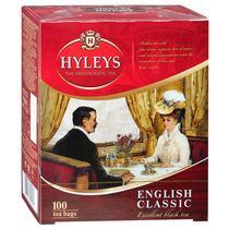 Чай Hyleys Английский классический байховый черный в пакетик