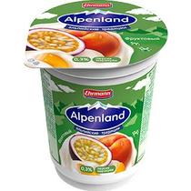 Продукт йогуртный Alpenland Ehrmann Персик-Маракуйя 0,3 %
