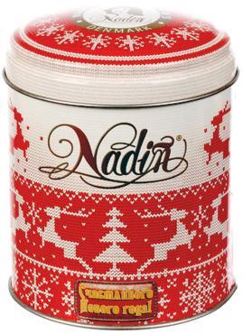 Чай черный листовой Nadin Счастливого Нового года! 75 гр., жестяная банка
