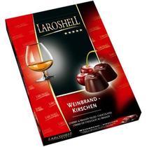 Конфеты Laroshell шоколадные Вишня в коньяке Ла Рошель, 150 гр., картон