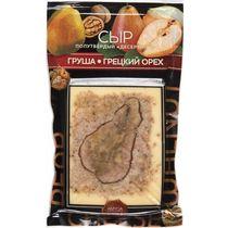 Сыр Amyga десертный с грушей и грецким орехом полутвердый