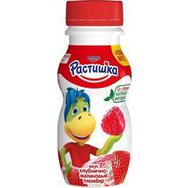 Йогурт пит Растишка 1,6% 200г ф-9 клубнично-малиновй пломбир