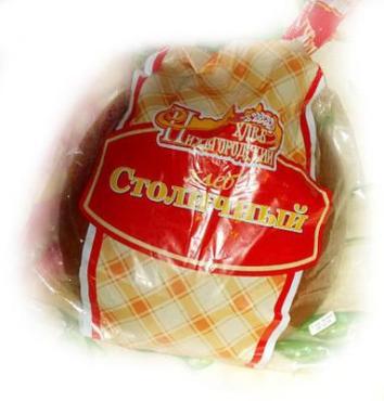 Хлеб Нижегородский Хлеб Столичный половинка-нарезка 350 гр.