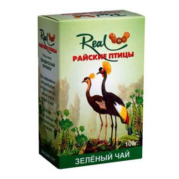 Чай Real Райские птицы листовой зеленый элитный
