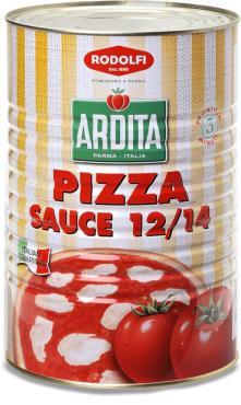 Пицца-соус 12/14 Classica, Rodolfi, 5 кг., жестяная банка