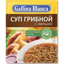 Готовое блюдо Gallina Blanca Суп Грибной с лапшой