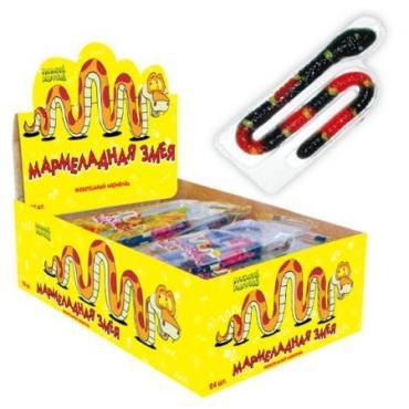 Мармелад Веселый Напугай мармеладная змея