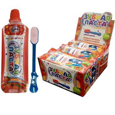 Жидкая карамель Сладкая зубная паста