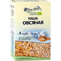 Каша Fleur Alpine Organic овсяная безмолочная с 5 месяцев
