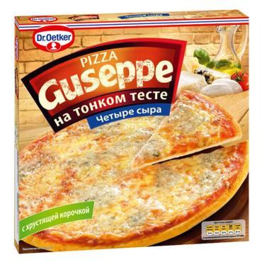 Пицца Dr.Oetker Guseppe 4 Сыра Тонкое тесто