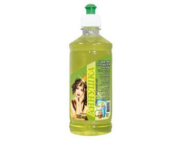 Средство для мытья посуды Аннушка Лайм и Зеленый чай