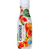 Биойогурт Слобода питьевой с персиком, обогощённый лактобактериями L.casel, 2%