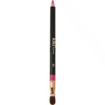 Карандаш для губ KiKi с кисточкой 03 светло-розовый
