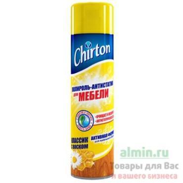 Полироль-антистатик Chirton для мебели Классик с воском