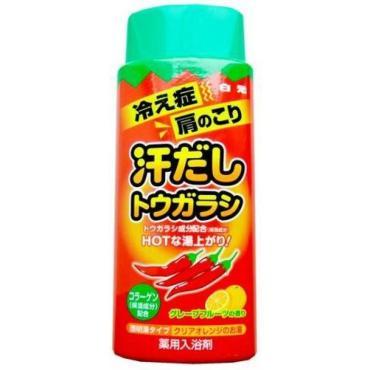 Соль Bath King для ванны согревающая с восстанавливающим эффектом на основе горького красного перца