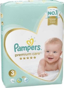 Подгузники Pampers Premium Care Midi 6-10 кг