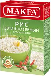 Крупа рисовая Макфа длиннозерный пропаренный в варочных пакетиках