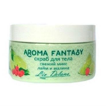 Скраб для тела Liv Delano Aroma Fantasy Свежий микс лайм и малина