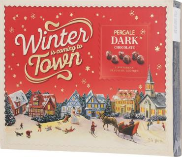 Конфеты Pergale Dark Chocolate Winter Collection ассорти из темного шоколада