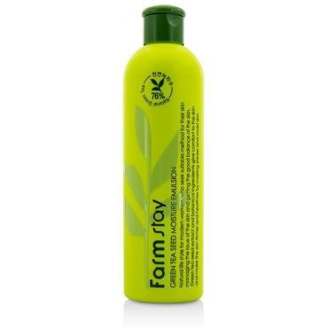 Увлажняющая эмульсия FarmStay Green Tea Seed Moisture Emulsion с семенами зеленого чая