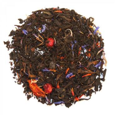 Чай Nadin lux Ягодное лукошко, чёрный, байховый, крупнолистовой