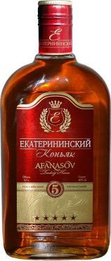 Российский Коньяк Екатерининский пятилетний