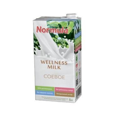 Соевое молоко Normula Welnessmilk Соевый 2%