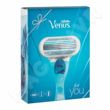 Подарочный Набор Gillette Venus Classic Бритва + 1 Сменная кассета + Гель