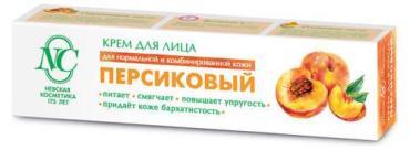 Крем Невская Косметика для лица Традиционная серия Персиковый