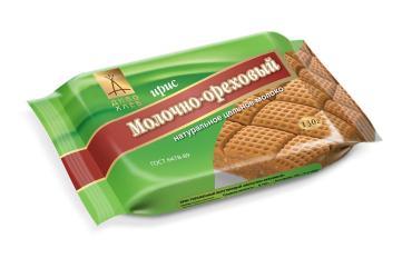 Ирис Диво хлеб молочно-ореховый, 130 гр., флоу-пак