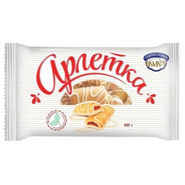 Печенье Полет Арлетка в белом шоколаде