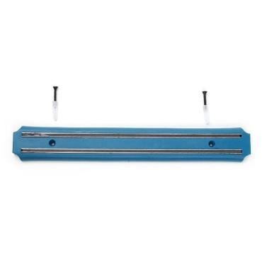 Держатель для ножей 33 см. магнитный голубой