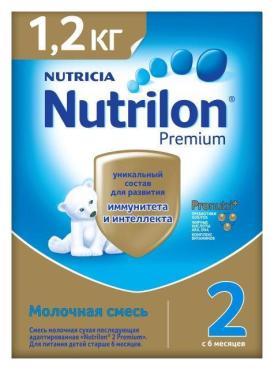 Молочная смесь Nutrilon Premium 2 с 6 месяцев