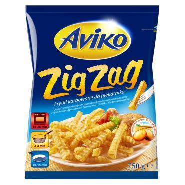 Картофель фри Aviko волнистый, 750 гр., флоу-пак