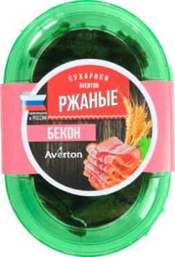 Сухарики Averton Демидовские Ржаные Бекон