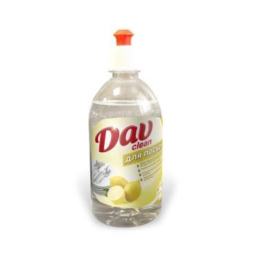 Гель для посуды DAV clean Лимон с клапаном