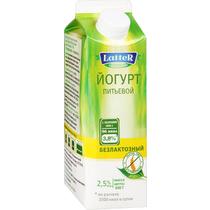 Питьевой йогурт Latter безлактозный 2,5% 500 г