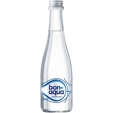 Вода питьевая Bon Aqua газированная