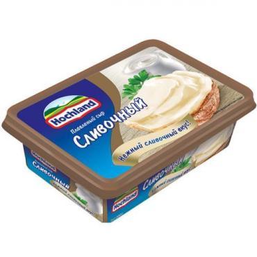 Сыр Hochland плавленый сливочный 55%, 200 гр.