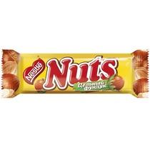 Батончик Nuts Шоколадный с цельным фундуком