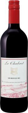 Вино красное сухое Joseph Verdier Le Chabrot rouge sec, 750 мл., стекло