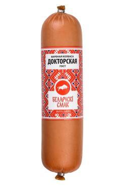 Колбаса Белорусский смак Докторская варенная ГОСТ