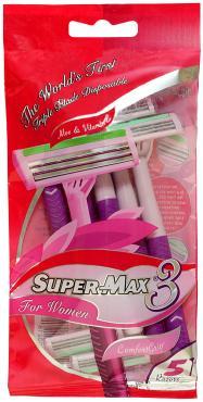 Одноразовый станок Super-Max 3 For Women 5шт