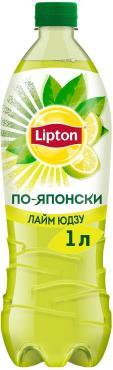 Чай холодный Lipton Зеленый Лайм юдзу По-японски