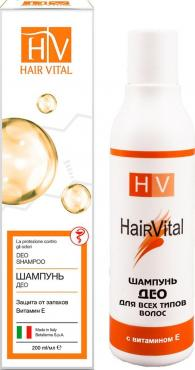 Шампунь Hair Vital Deo Shampoo с витамином Е