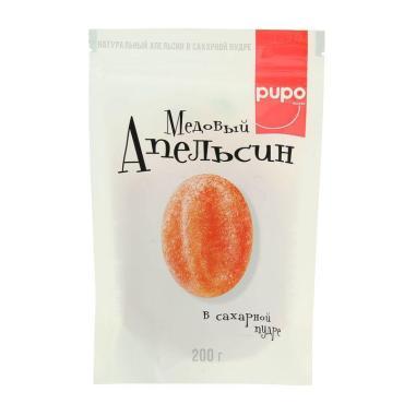 Конфеты Pupo Медовый апельсин в сахарной пудре