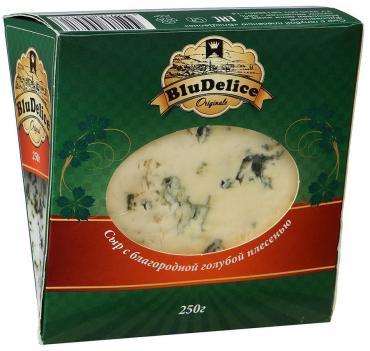Сыр BluDelice с голубой плесенью 56%