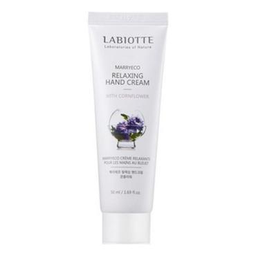 Крем LABIOTTE для рук с натуральными экстрактами Marryeco Hand Cream Cornflower Василек