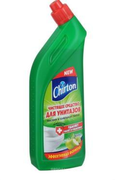 Средство CHIRTON чистящее для унитаза с ароматом яблока